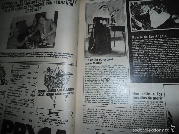 Coleccionismo de Los Domingos de ABC: LOTE PERIODICOS DIARIO ABC AÑO 1982 - JUAN PABLO II - Foto 4 - 58744540