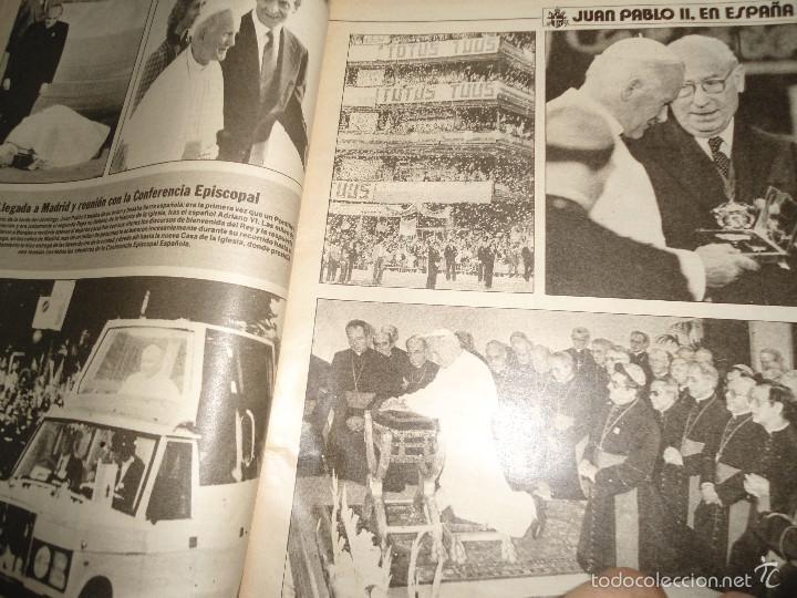 Coleccionismo de Los Domingos de ABC: LOTE PERIODICOS DIARIO ABC AÑO 1982 - JUAN PABLO II - Foto 10 - 58744540