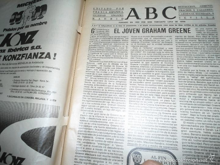 Coleccionismo de Los Domingos de ABC: LOTE PERIODICOS DIARIO ABC AÑO 1982 - JUAN PABLO II - Foto 11 - 58744540