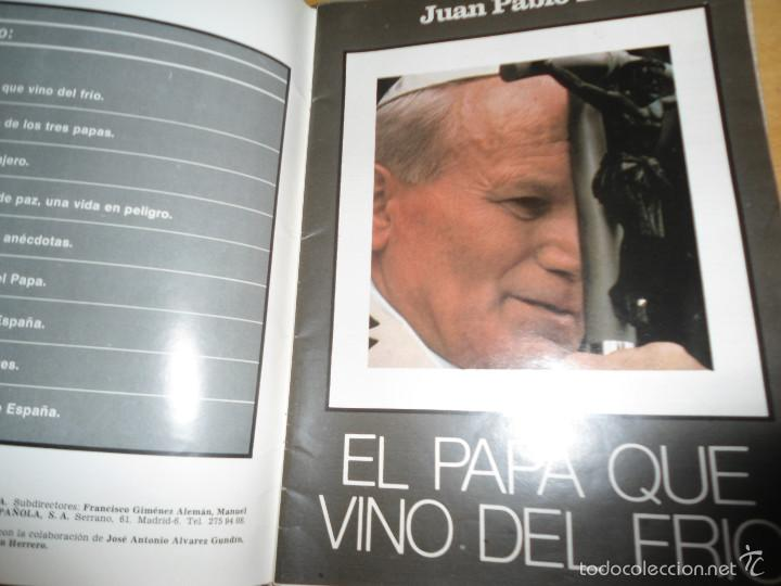 Coleccionismo de Los Domingos de ABC: LOTE PERIODICOS DIARIO ABC AÑO 1982 - JUAN PABLO II - Foto 16 - 58744540