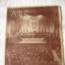 Coleccionismo de Los Domingos de ABC: PERIODICO ABC 18 ABRIL 1958. Lote 62631552