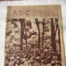 Coleccionismo de Los Domingos de ABC: PERIODICO ABC 28 JULIO 1958 . Lote 62632672