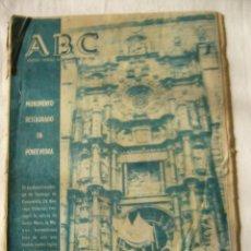 Coleccionismo de Los Domingos de ABC: PERIODICO ABC 14 OCTUBRE 1960. Lote 62633572