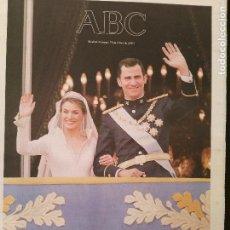 Coleccionismo de Los Domingos de ABC: ABC 23/MAYO/2004 BODA FELIPE Y LETICIA CASA REAL - REYES - PRINCIPES. Lote 64327055