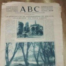 Coleccionismo de Los Domingos de ABC: NÚMERO EXTRAORDINARIO ABC 1940. Lote 65915118