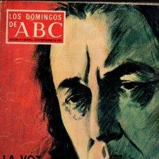Coleccionismo de Los Domingos de ABC: LOS DOMINGOS DE ABC - 30 SEPTIEMBRE 1973 - SOLZHENITSIN - SUPLEMENTO SEMANAL. Lote 66145206