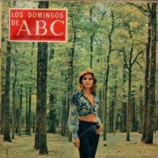 Coleccionismo de Los Domingos de ABC: LOS DOMINGOS DE ABC - 1 NOVIEMBRE 1970 - ROSANNA YANNI - SUPLEMENTO SEMANAL. Lote 222471640
