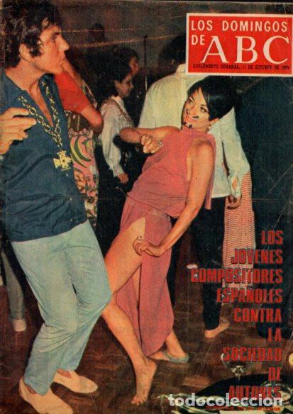 LOS DOMINGOS DE ABC - 11 OCTUBRE 1970 - SUPLEMENTO SEMANAL (Coleccionismo - Revistas y Periódicos Modernos (a partir de 1.940) - Los Domingos de ABC)