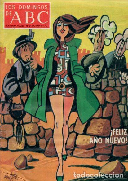 LOS DOMINGOS DE ABC - 29 DICIEMBRE 1974 - FELIZ AÑO NUEVO - SUPLEMENTO SEMANAL (Coleccionismo - Revistas y Periódicos Modernos (a partir de 1.940) - Los Domingos de ABC)