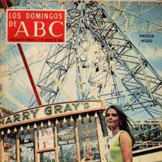 Coleccionismo de Los Domingos de ABC: LOS DOMINGOS DE ABC - 2 MARZO 1969 - NATALIE WOOD - SUPLEMENTO SEMANAL. Lote 67670533