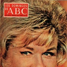 Coleccionismo de Los Domingos de ABC: LOS DOMINGOS DE ABC - 29 MARZO 1970 - DORIS DAY - SUPLEMENTO SEMANAL. Lote 67670729