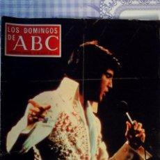 Coleccionismo de Los Domingos de ABC: REVISTA - LOS DOMINGOS DE ABC - 13 AGOSTO 1978 - ELVIS, EL MITO SIGUE. Lote 68775261