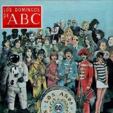 Coleccionismo de Los Domingos de ABC: LOS DOMINGOS DE ABC, 8 DE OCTUBRE DE 1978 PORTADA: LA DÉCADA RABIOSA. Lote 68775685