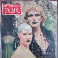 Coleccionismo de Los Domingos de ABC: LOS DOMINGOS DE ABC. 6 DE AGOSTO DE 1978. PRAGA, EL DANDY 1978, ROY BEAN, FILATELIA GOYA.. Lote 69414049