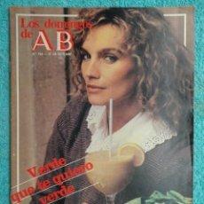 Coleccionismo de Los Domingos de ABC: LOS DOMINGOS DE ABC ,AÑO 1982 ,EL TIBET- NATURALEZA,FARMACIA PERFECTA -DIONNE WARWICK ,EL POP. Lote 70075721