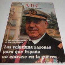 Coleccionismo de Los Domingos de ABC: REVISTA ABC LA II GUERRA MUNDIAL Nº 11. Lote 75631991