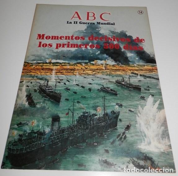 REVISTA ABC LA II GUERRA MUNDIAL Nº 14 (Coleccionismo - Revistas y Periódicos Modernos (a partir de 1.940) - Los Domingos de ABC)