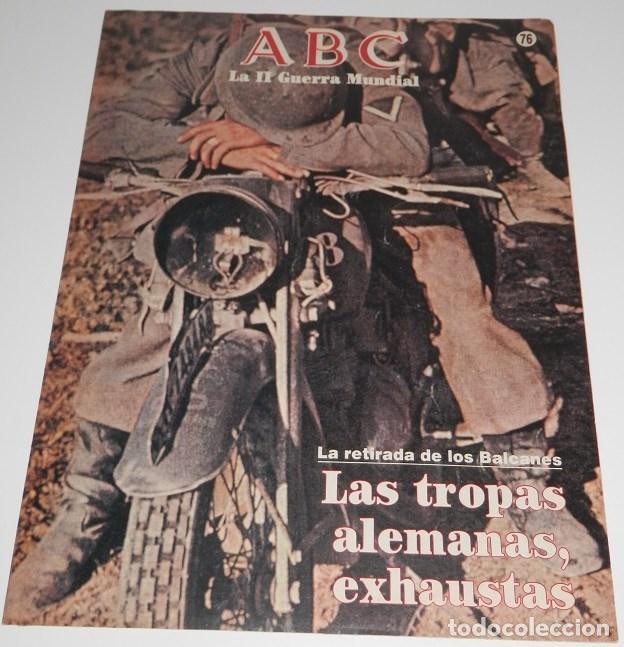 REVISTA ABC LA II GUERRA MUNDIAL Nº 76 (Coleccionismo - Revistas y Periódicos Modernos (a partir de 1.940) - Los Domingos de ABC)