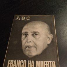 Coleccionismo de Los Domingos de ABC: ABC FRANCO HA MUERTO. Lote 75821569