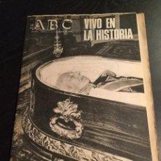 Coleccionismo de Los Domingos de ABC: ABC VIVO EN LA HISTORIA. Lote 75822809
