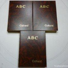 Coleccionismo de Los Domingos de ABC: ABC CULTURAL AÑO 1993 3 TOMOS ENCUADERNADOS AÑO COMPLETO DESDE EL NUMERO 62 AL NUMERO 113 INCLUIDOS. Lote 78457505