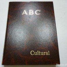 Coleccionismo de Los Domingos de ABC: ABC CULTURAL SEPTIEMBRE-DICIEMBRE 1992 1 TOMO ENCUADERNADO DESDE EL NUMERO 44 AL NUMERO 61 INCLUIDOS. Lote 78460581