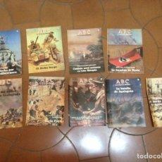 Coleccionismo de Los Domingos de ABC: LOTE ABC FASCICULOS II GUERRA MUNDIAL Nº 12 15 16 21 56 64 67 72 90. Lote 79589259