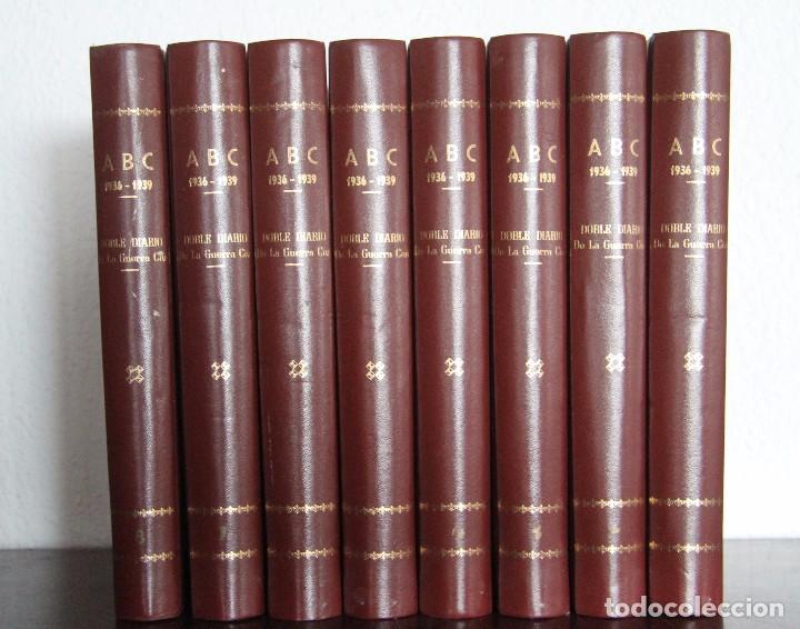 REVISTA GRAFICA: ABC 1936-1939 DOBLE DIARIO GUERRA CIVIL COMPLETA 80 ENTREGAS ENCUADERNADAS 8 TOMOS (Coleccionismo - Revistas y Periódicos Modernos (a partir de 1.940) - Los Domingos de ABC)