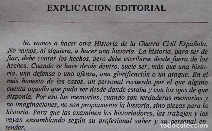 Coleccionismo de Los Domingos de ABC: REVISTA GRAFICA: ABC 1936-1939 DOBLE DIARIO GUERRA CIVIL COMPLETA 80 ENTREGAS ENCUADERNADAS 8 TOMOS - Foto 8 - 82786252
