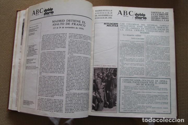Coleccionismo de Los Domingos de ABC: REVISTA GRAFICA: ABC 1936-1939 DOBLE DIARIO GUERRA CIVIL COMPLETA 80 ENTREGAS ENCUADERNADAS 8 TOMOS - Foto 20 - 82786252
