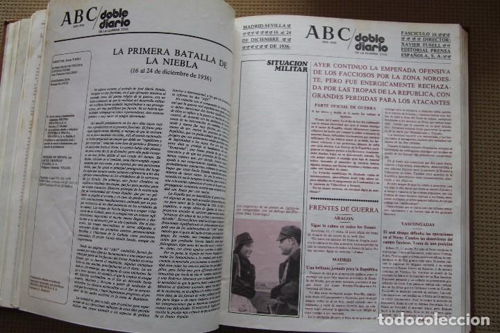 Coleccionismo de Los Domingos de ABC: REVISTA GRAFICA: ABC 1936-1939 DOBLE DIARIO GUERRA CIVIL COMPLETA 80 ENTREGAS ENCUADERNADAS 8 TOMOS - Foto 22 - 82786252