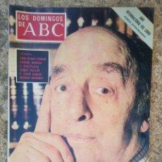 Coleccionismo de Los Domingos de ABC: LOS DOMINGOS DE ABC 15 OCTUBRE 1972 PABLO NERUDA. Lote 84515559