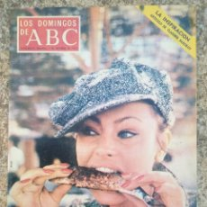 Coleccionismo de Los Domingos de ABC: LOS DOMINGOS DE ABC 7 OCTUBRE 1973 NADIUSKA. Lote 84282728