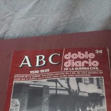Coleccionismo de Los Domingos de ABC: LOTE 12 REVISTAS ABC DOBLE DIARIO DE LA GUERRA CIVIL.... Lote 87278392