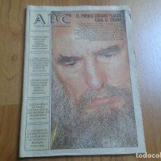 Coleccionismo de Los Domingos de ABC: PERIÓDICO DIÁRIO ABC -- 7 DE AGOSTO DEL 1994 -- FIDEL CASTRO ( PORTADA ), LAVAPIES, VERBENAS, 0,7 ... Lote 87359904