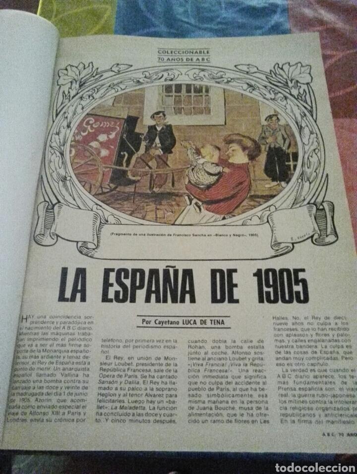 COLECCIONABLE 70 AÑOS ABC (Coleccionismo - Revistas y Periódicos Modernos (a partir de 1.940) - Los Domingos de ABC)