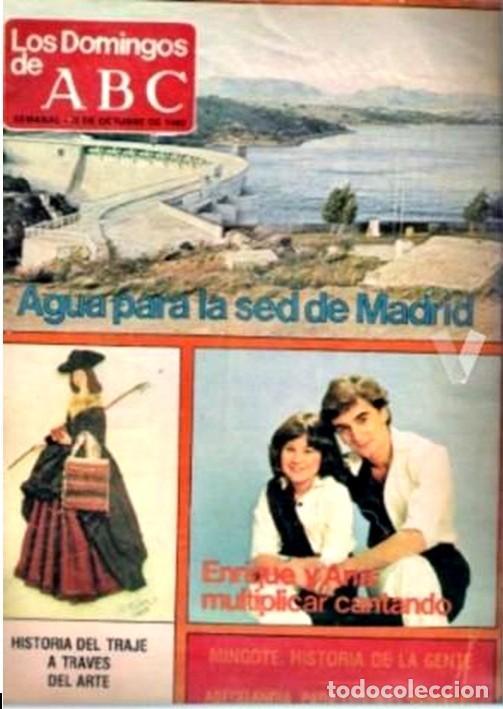LOS DOMINGOS DE ABC 1980 (Coleccionismo - Revistas y Periódicos Modernos (a partir de 1.940) - Los Domingos de ABC)