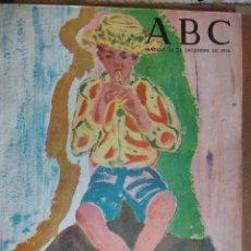 Coleccionismo de Los Domingos de ABC: ALMANAQUE ABC, 1956, 1957, 5 PESETAS, NUMERO ESPECIAL, MADRID 30 DICIEMBRE 1956, VER FOTOS . Lote 90041036