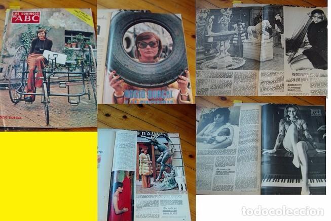 REVISTA LOS DOMINGOS DE ABC ROCÍO DÚRCAL 1973 (Coleccionismo - Revistas y Periódicos Modernos (a partir de 1.940) - Los Domingos de ABC)