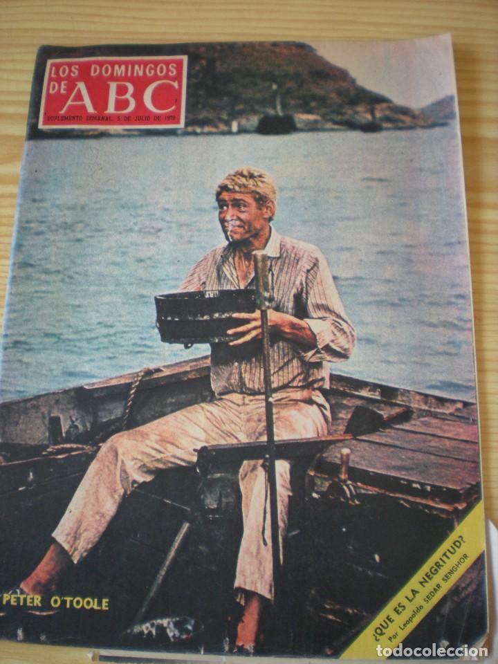 LOS DOMINGOS DE ABC DE FECHA 05 JULIO DE 1970 (Coleccionismo - Revistas y Periódicos Modernos (a partir de 1.940) - Los Domingos de ABC)