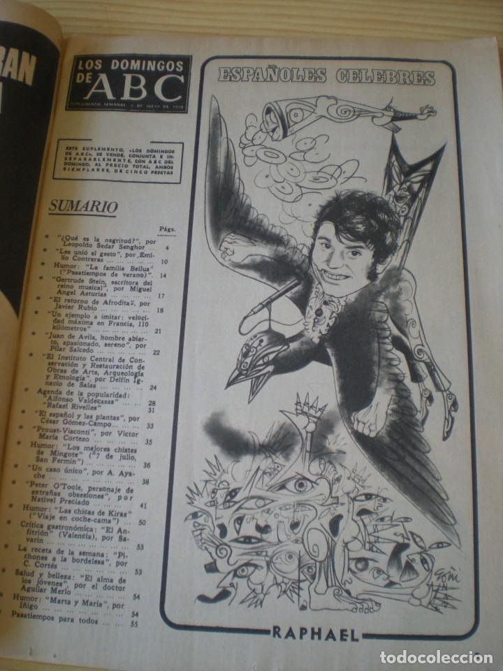Coleccionismo de Los Domingos de ABC: los domingos de ABC de fecha 05 julio de 1970 - Foto 2 - 90986960