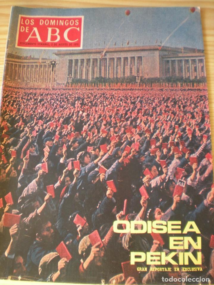 LOS DOMINGOS DE ABC DE FECHA 02 AGOSTO DE 1970 (Coleccionismo - Revistas y Periódicos Modernos (a partir de 1.940) - Los Domingos de ABC)
