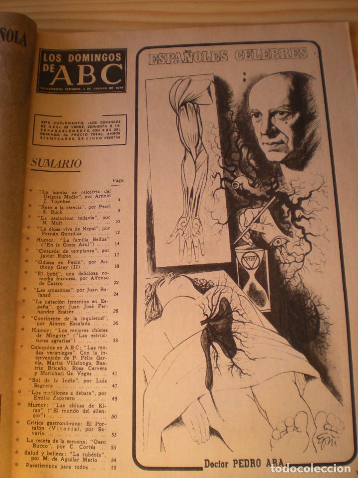 Coleccionismo de Los Domingos de ABC: los domingos de ABC de fecha 02 agosto de 1970 - Foto 2 - 90988710