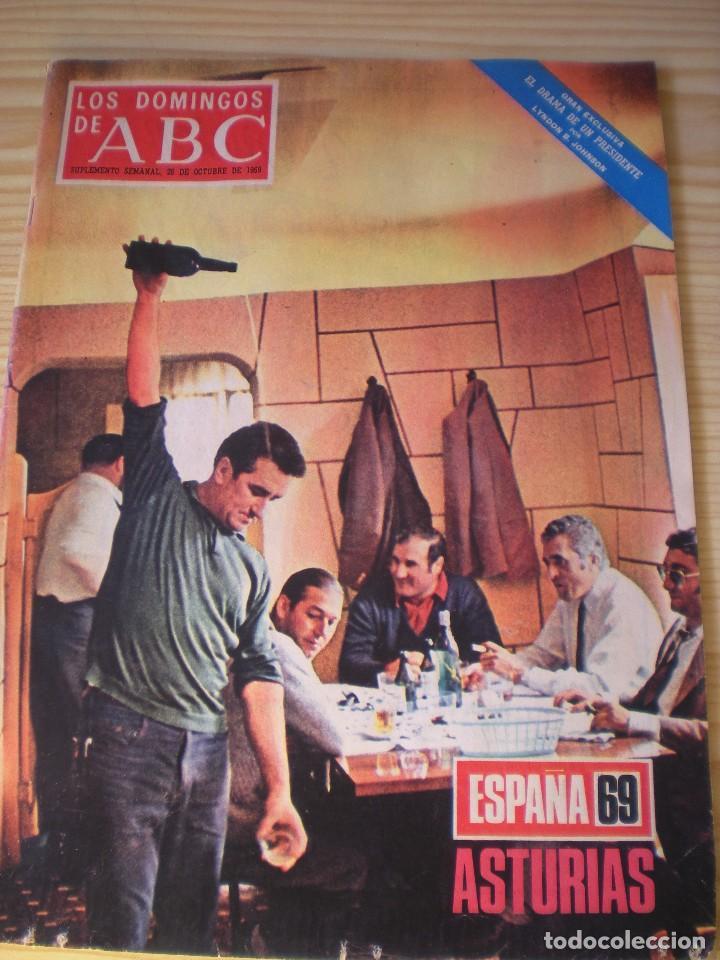 LOS DOMINGOS DE ABC DE FECHA 26 OCTUBRE DE 1969 (Coleccionismo - Revistas y Periódicos Modernos (a partir de 1.940) - Los Domingos de ABC)
