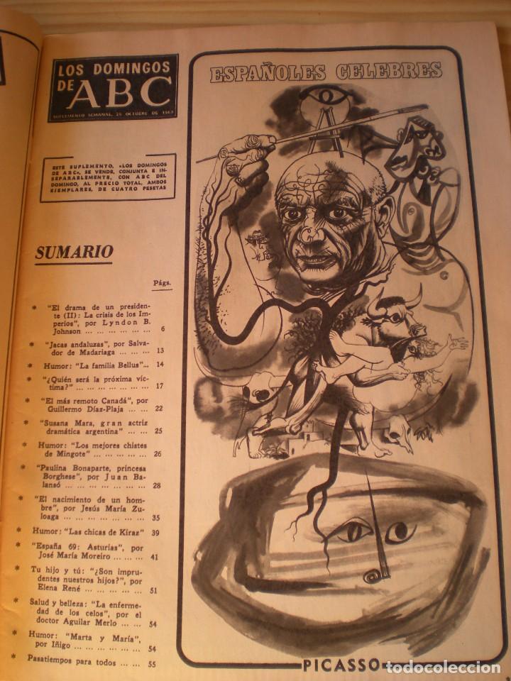 Coleccionismo de Los Domingos de ABC: los domingos de ABC de fecha 26 octubre de 1969 - Foto 2 - 90988870