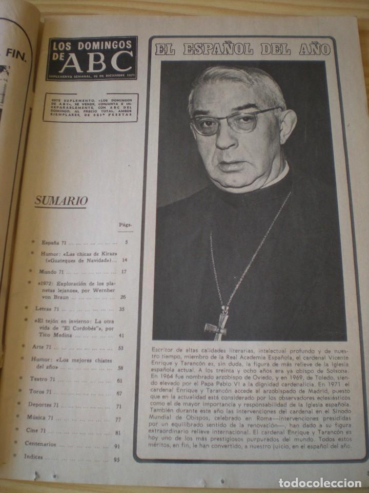 Coleccionismo de Los Domingos de ABC: los domingos de ABC de fecha 26 mayo de 1971 - Foto 2 - 91034345