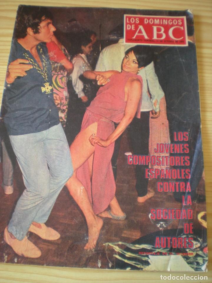 LOS DOMINGOS DE ABC DE FECHA 11 OCTUBRE DE 1970 (Coleccionismo - Revistas y Periódicos Modernos (a partir de 1.940) - Los Domingos de ABC)