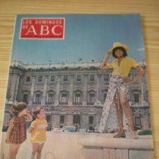 Coleccionismo de Los Domingos de ABC: LOS DOMINGOS DE ABC DE FECHA 23 AGOSTO DE 1970. Lote 91037310