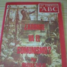 Coleccionismo de Los Domingos de ABC: LOS DOMINGOS DE ABC DE FECHA 12 OCTUBRE DE 1969. Lote 91038540