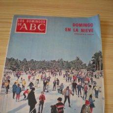 Coleccionismo de Los Domingos de ABC: LOS DOMINGOS DE ABC DE FECHA 08 FEBRERO DE 1970. Lote 91039200